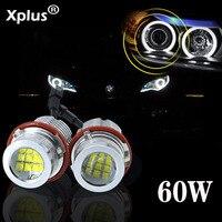 Xplus 60 Вт LED Марк Ангел глаз для BMW 1 серии 5 серии E39 E60 E63 E65 E53 E83 E87 автомобилей дневного Бег света DRL