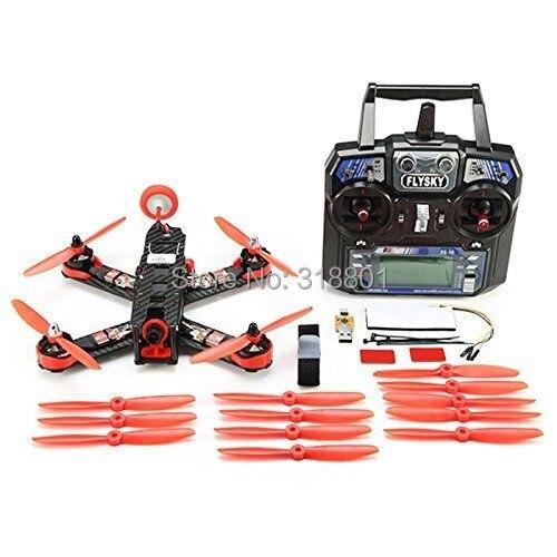 210mm Mini Quadcopter FPV Racer Drone RTF Full Set Combo with CC3D Racing Flight