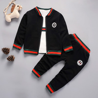 Good Hot Sale 2016 New Autumn Spring Baby Boys And Girls Clothes Baby Tracksuit Brand Sport