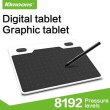 """10 Лун """" Профессиональный цифровой планшет графический планшет для рисования"""