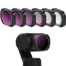 Для OSMO карманный фильтр для камеры CPL/UV/ND 4 8 16 32 фильтры нейтральной плотности Набор для DJI Osmo Карманный оптический стеклянный объектив аксессуары