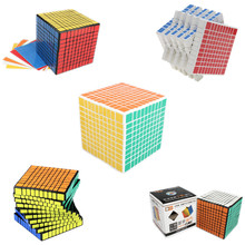Shengshou 10x10x10 Square Magic Puzzle Cube 10*10*10 Professor Speed Cube 102mm Neo Cube Adult Learning & Educational Toys Gift