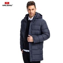 MALIDINU 2020 Men Down Coat Winter Long Down Jacket