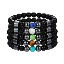 JAAFAR новая модель натуральный жемчуг Шарм браслет натуральный 8 мм камень Бусины Браслет из натурального камня ювелирные изделия браслеты для женщин AS363