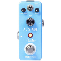 ROWIN Guitar Effects Classical AC Stage Acoustic Effects Pedal Guitar True Bypass Design Acoustic Guitar Simulation Effects