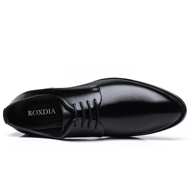 ROXDIA men formal pointed toe wedding shoes
