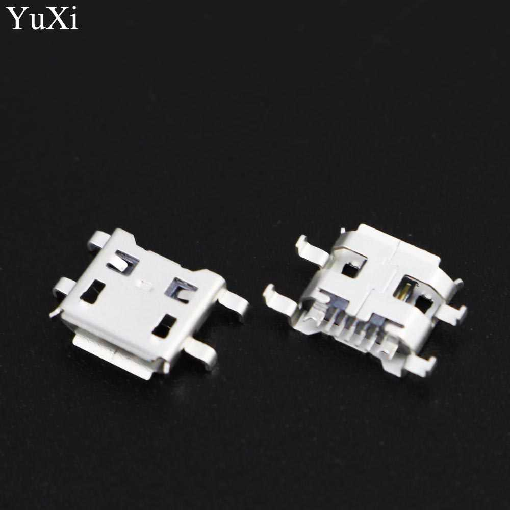 YuXi 100 pcs/lot Micro USB connecteur prise cc prise Port de charge prise d'alimentation 7pin pour Prestigio Multipad 2 Ultra Duo 8.0 tablette