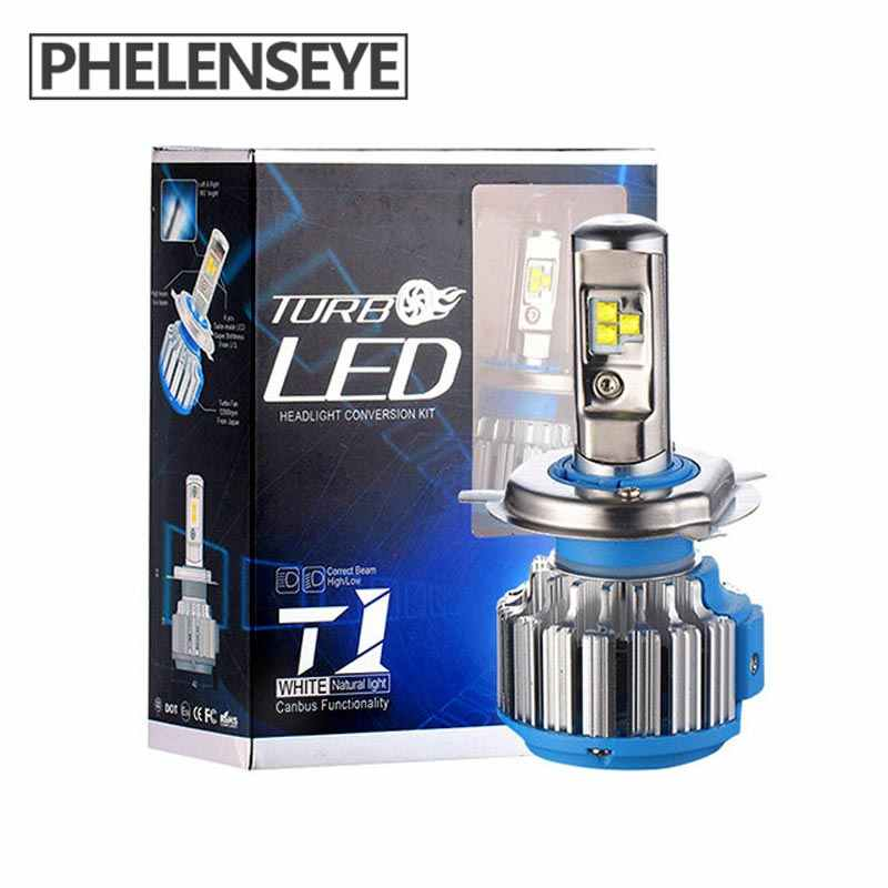 h1 h3 h7 H4 Led  Headlights  Led Bulb Car light  HB4 h11 Led Lamp for auto 12V h27 880 9006 9005 hb3 h9 h8 h13 HB5 70W bulb