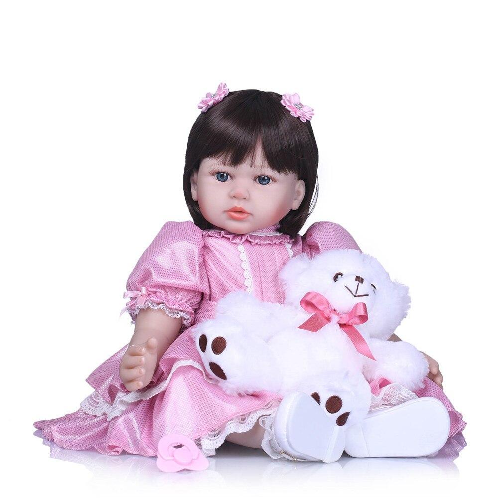 24 bambola reborn babies vendita in silicone rinato bambole del bambino dal vivo con peluche bambola 58 cm bebe reborn ragazze giocattoli regalo di compleanno24 bambola reborn babies vendita in silicone rinato bambole del bambino dal vivo con peluche bambola 58 cm bebe reborn ragazze giocattoli regalo di compleanno