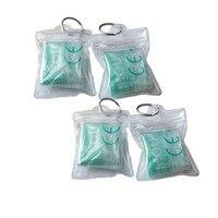 Оптовая Продажа 1000 шт./лот ПВХ маска для искусственного дыхания при реанимации брелок с прозрачным окошком CE/FDA утвержденных аварийного лиц
