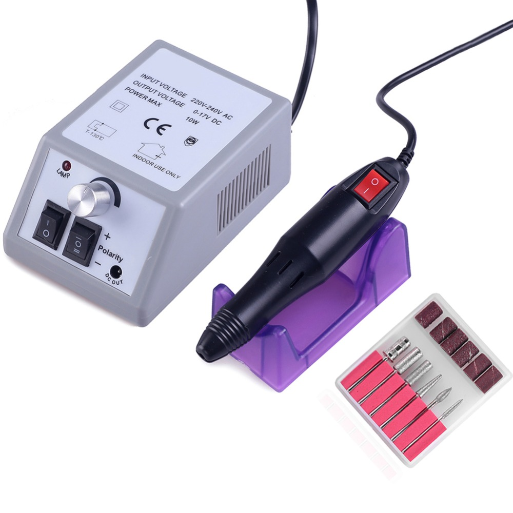 20000rpm Electric Manicure Drills Accessories Pedicure Tools Files Nail Tools Polisher Sanding
