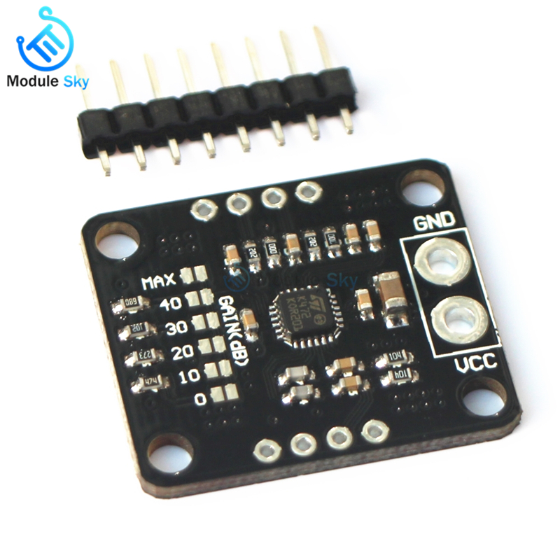 TS472 Amplifier Module Low Noise Electret Microphone Audio Preamplifier Board With 2.0 V Bias Output PDA audio development board