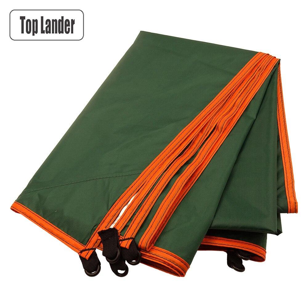 3x3m toldo impermeable Tarp tienda para sombra ultraligero jardín toldo sombrilla para acampar al aire libre hamaca mosca de la lluvia Playa Sol refugio
