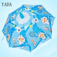 YADA Children Cartoon Dog & Dora Dream Umbrella Full-automatic Long-handle Boys Girls Kids Parasols Anti UV Rain Umbrellas YS168 viking dora a dream for mh4 front