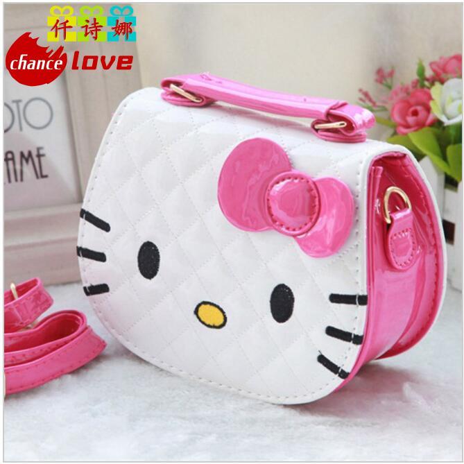 New designers mini cute bag children hello kitty Bowknot handbag kids tote girls Shoulder Bag mini bag  free shipping designers children s