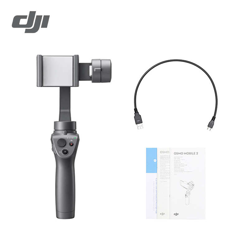 Stabilisateur portable 3 axes DJI Osmo Mobile 2 pour téléphone intelligent 3 axes fonctions de mouvement de cardan/Panorama-in Cardan à tenir à la main from Electronique    1