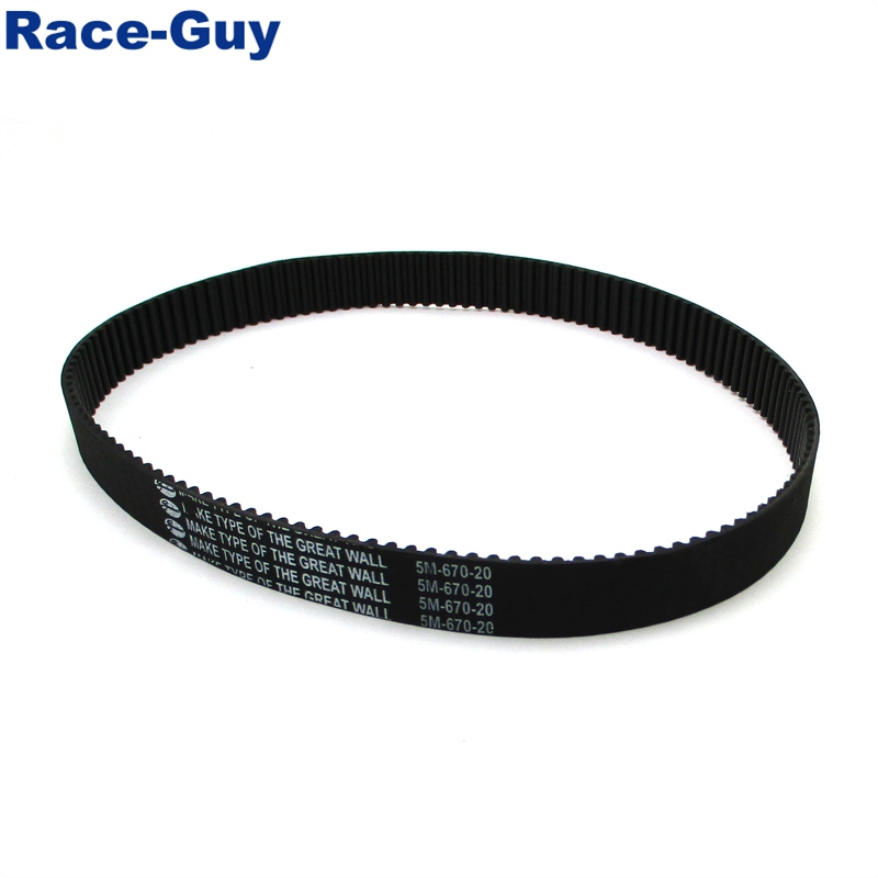 5M-670-20 Drive Belt For Bladez Moby S XL 33cc 35cc 40cc Gas Scooter Powerboards