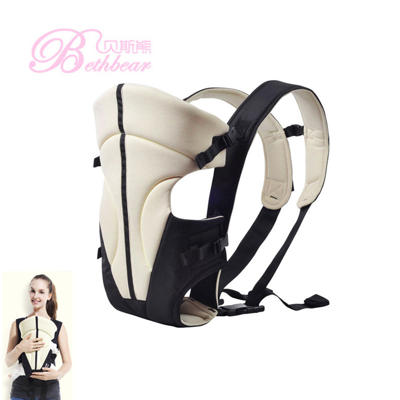 Bethbear 0-24 Months Multifunctional Front Facing Baby Carriers Infant Comfortable Baby Sling Backpack Pouch Wrap Baby Kangaroo