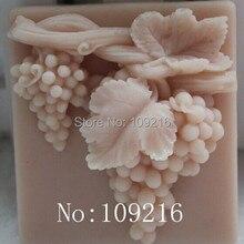 1 шт. Грозди для винограда(zx012) силиконовые формы для мыла ручной работы DIY
