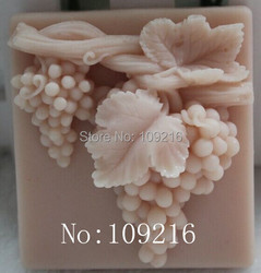 Wholesale 1pcs the grape bunches zx012 silicone handmade soap mold crafts diy mold.jpg 250x250