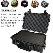 Ударопрочный защитный бокс для камеры ABS герметичный водонепроницаемый жесткий чехол для оборудования с пенопластом набор инструментов для автомобилей ударопрочный чехол