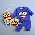 heat! 2016 new spring autumn baby boys girls 100% Cotton cartoon T-shirt T-shirt + pants 2pcs/sets children brand Free Shipping