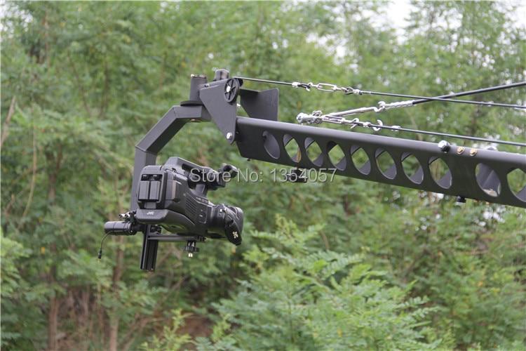kran jib Professional 10m 2 ox sürücülük baş üçbucaq jib video - Kamera və foto - Fotoqrafiya 6