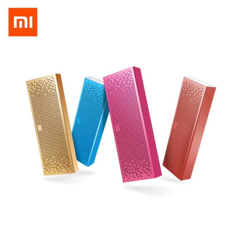 Original Xiaomi Mi Bluetooth Speaker Micro-SD Aux-in Handsfree Call Stereo Portable Bluetooth 4.0 Aluminum Frame Speaker original xiaomi mi bluetooth speaker portable wireless mini speaker micro sd card aux in bt4 0 for iphone and android phones