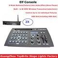 2xlot Бесплатная доставка 432 канала DMX контроллер диджей осветительное оборудование DMX консоль встроенный W-DMX беспроводной приемопередатчик д...