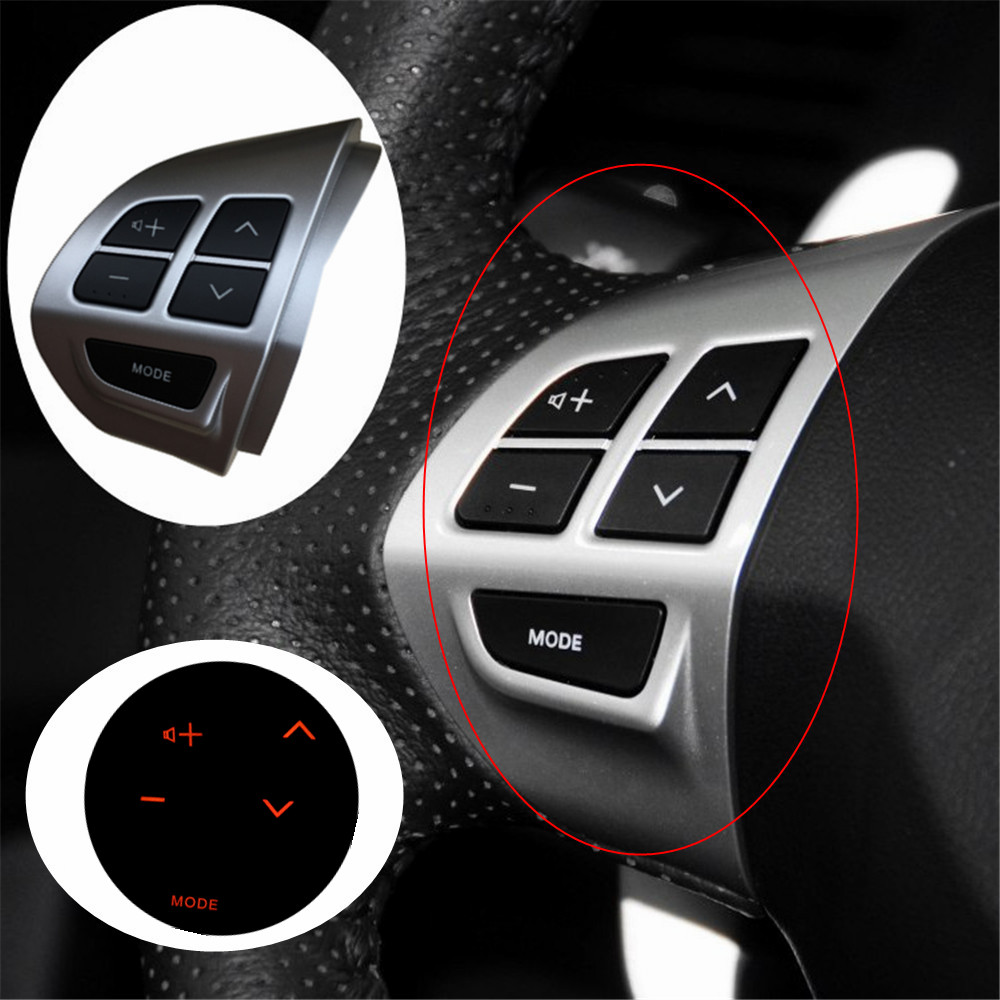 New Steering Wheel Volume Sound Button Left Fit For MITSUBISHI LANCER OUTLANDER ASX 2007 2008 2009 2010 2011