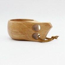 ZAKKA KUKSA Handmade Beech Wooden Cups