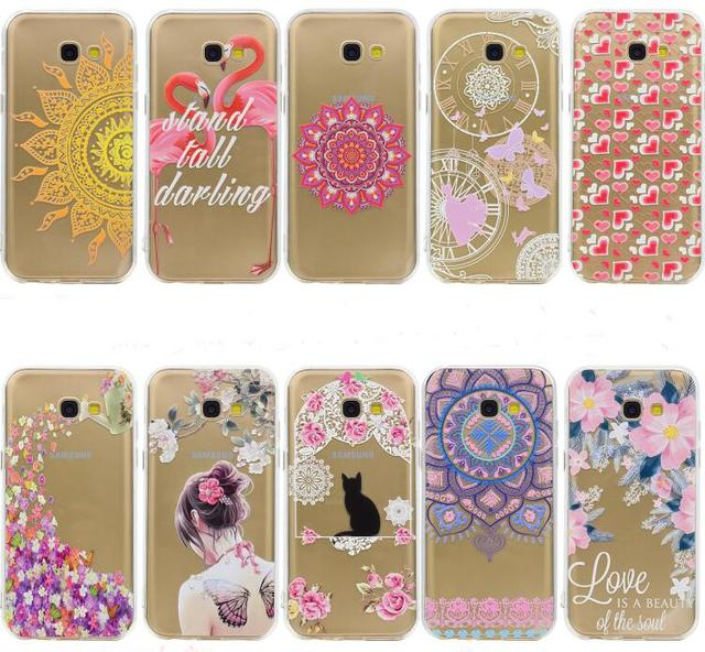 the latest ab9a0 6a029 US $2.81 |Fashion Silicone Case For Samsung Galaxy A3 2017 Case A5 (2017)  Samsung Galaxy A5 2017 Case Protective TPU Back Cover Phone Case-in Fitted  ...