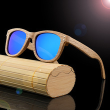 4b3edc45e4a2f New Classic Retro Rebites Óculos De Armação De Madeira de Bambu Óculos  Polarizados Óculos de Sol Das Mulheres Dos Homens Ao Ar L..