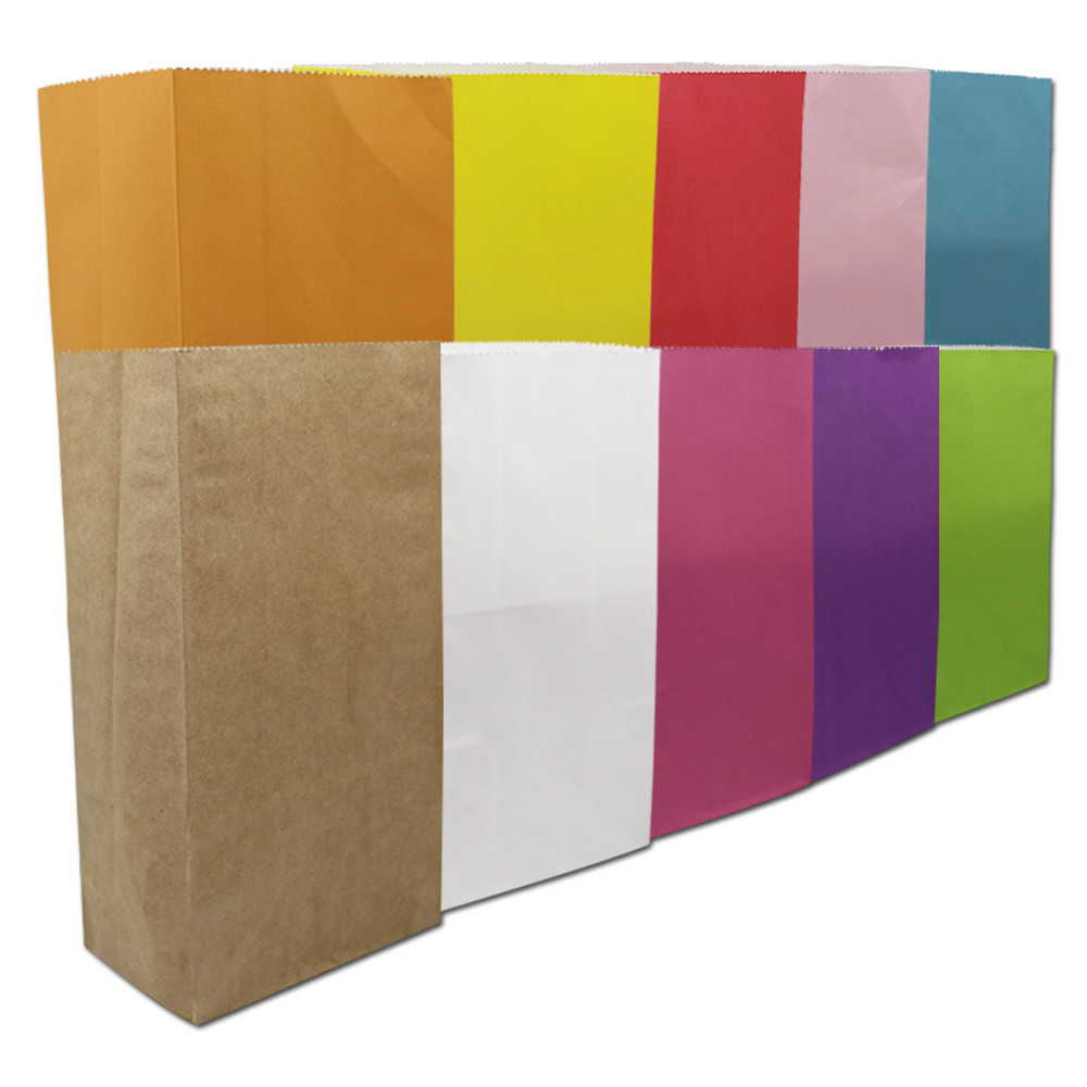 40 שקיות מתנת חג המולד יח'\חבילה נייר חתונת סוכריות צבעוני תיק פינוק עבור אספקת קישוט מסיבת נייר קראפט לחם תיק חבילה