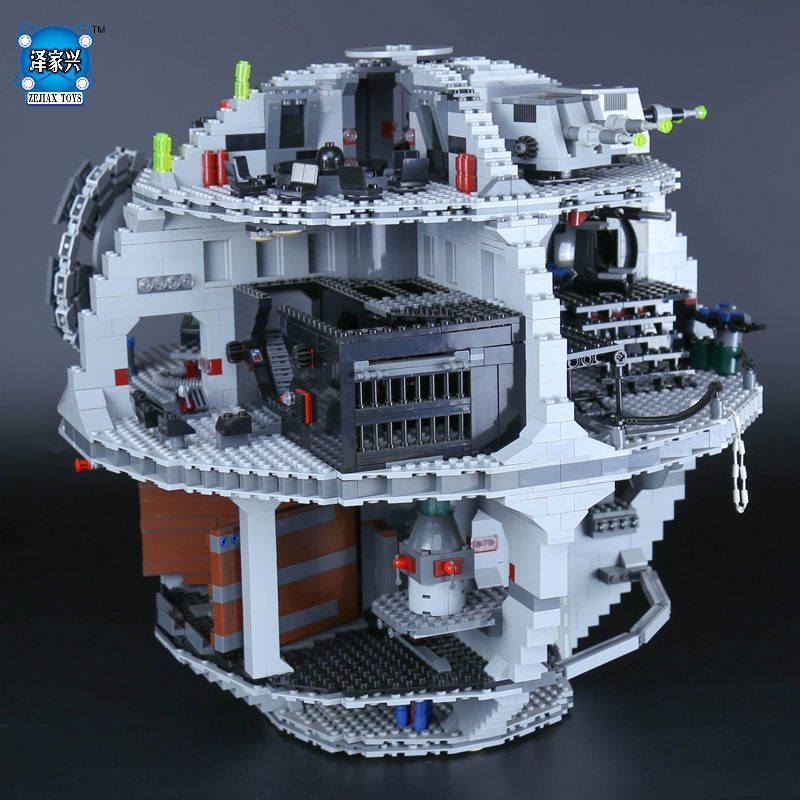 LEPINE Star Death model Star 3804pcs Wars Building Block Bricks Educational Toys Compatible with Gifts Kits lepine model