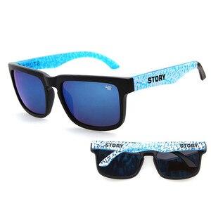Женские и мужские Квадратные Солнцезащитные очки STORY, очки с прозрачными линзами в Звездном стиле для ношения на улице, модные солнцезащитн...