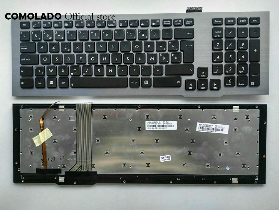 NEW BE Belgium Keyboard for Asus G75VM G75VX G75VW G75 BE Gray Frame Backlit Laptop KeyboardNEW BE Belgium Keyboard for Asus G75VM G75VX G75VW G75 BE Gray Frame Backlit Laptop Keyboard