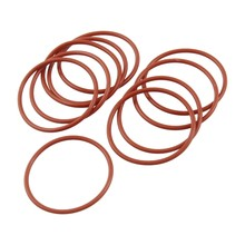 10 PCS Silicone O Ring Seal seal ring 34 mm x 38 mm x 2 mm(China)