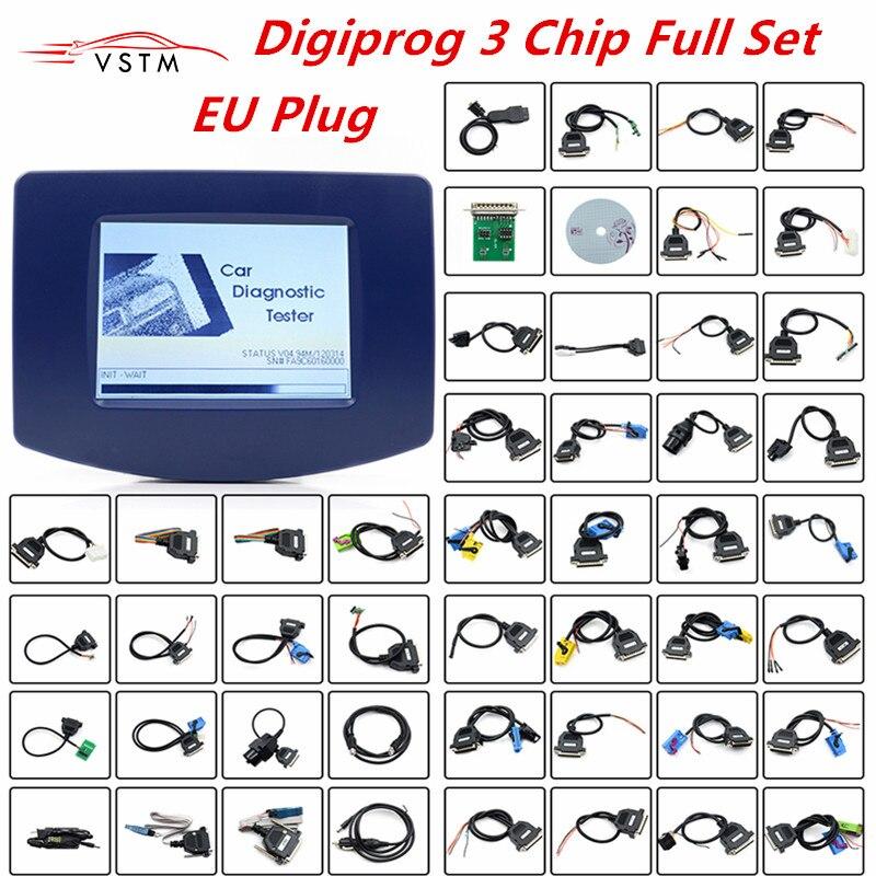 DIGIPROG 3 V4.94 Full Set All Cables Odometer Correction 2018 Original CPU FTDI Chip with EU Plug Digiprog3 Mileage CorrectionDIGIPROG 3 V4.94 Full Set All Cables Odometer Correction 2018 Original CPU FTDI Chip with EU Plug Digiprog3 Mileage Correction