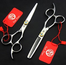 FAST Shipping! professional pair of 6 inch 440C Sapphire  high quality hair scissors hairdressing salon barber scissors