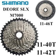 SHIMANO Deore SLX CS M7000 Cogs Freewheel 11-40T 11-42T 11-46T Mountain Bike Cassette Sprocket MTB 11S freewheels
