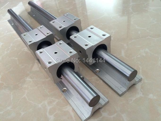 2pcs SBR16 - 1000/1500mm linear guide + 8pcs SBR16UU block for cnc parts 2pcs sbr16 1100mm linear guide 4pcs sbr16uu block cnc router