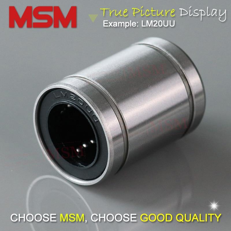 idéal pour protection RepRap Prusa Mendel Imprimante 3D LM8UU roulement linéaire 8mm shaft-CNC