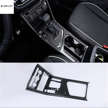 1pc ABS carbon fiber grain Central control gear paneldecation for 2017-2018 Volkswagen VW Tiguan MK2 AD1