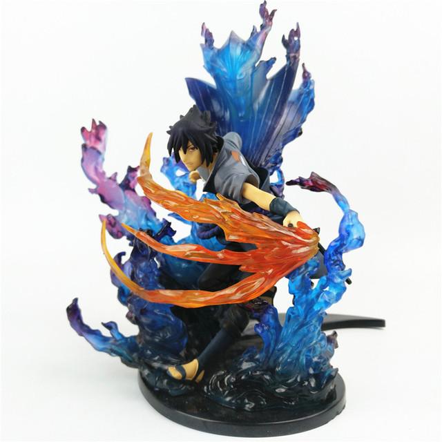 Naruto Shippuden Uchiha Sasuke Susanoo Figura de Acción de PVC