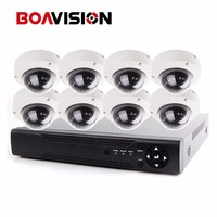 8CH 2 0MP AHD HD CCTV Security 1080P Dome Output AHD Camera DVR System Kit HDMI