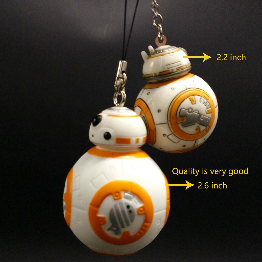 aliexpresscom buy retail 1pc 26inch star wars vii the force awakens bb8 bb 8 droid robot action figure pvc bag pendant from reliable toy vehicle