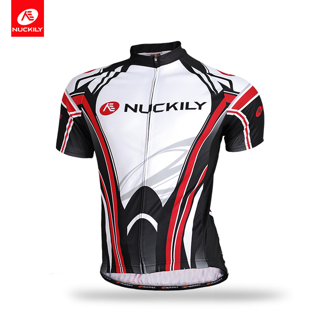 NUCKILY Summer Cycling Apparel Short Sleeve Bicycle Jersey High Quality  Outdoor Sports Jersey Cycle Clothes For Men MA008 957fc702a