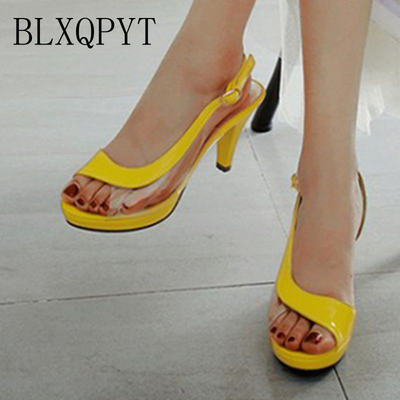 BLXQPYT New Big and Small Size 32- 45 Sandals Summer Style Women Platforms Fashion Dress Sweet High Heels 8 cm Shoes Woman c9-98BLXQPYT New Big and Small Size 32- 45 Sandals Summer Style Women Platforms Fashion Dress Sweet High Heels 8 cm Shoes Woman c9-98