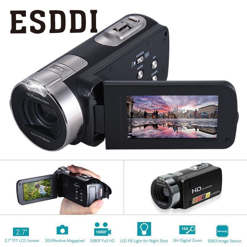 2018 nouveau 2.7 pouces 1080 P HDV-312P caméra vidéo numérique usage domestique DV LCD écran professionnel extérieur caméras voyage garçon cadeau - 6